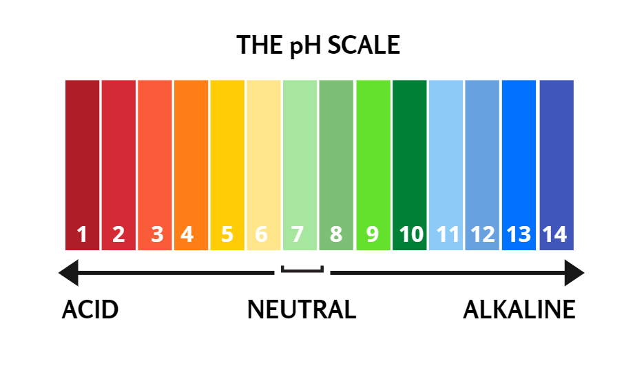 the ph scale color chart