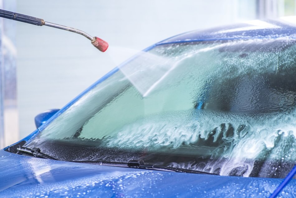 Pros and cons of pressure washing car