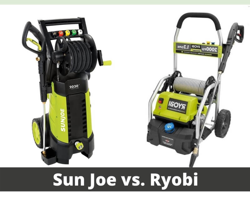 Sun Joe Vs. Ryobi Pressure Washer