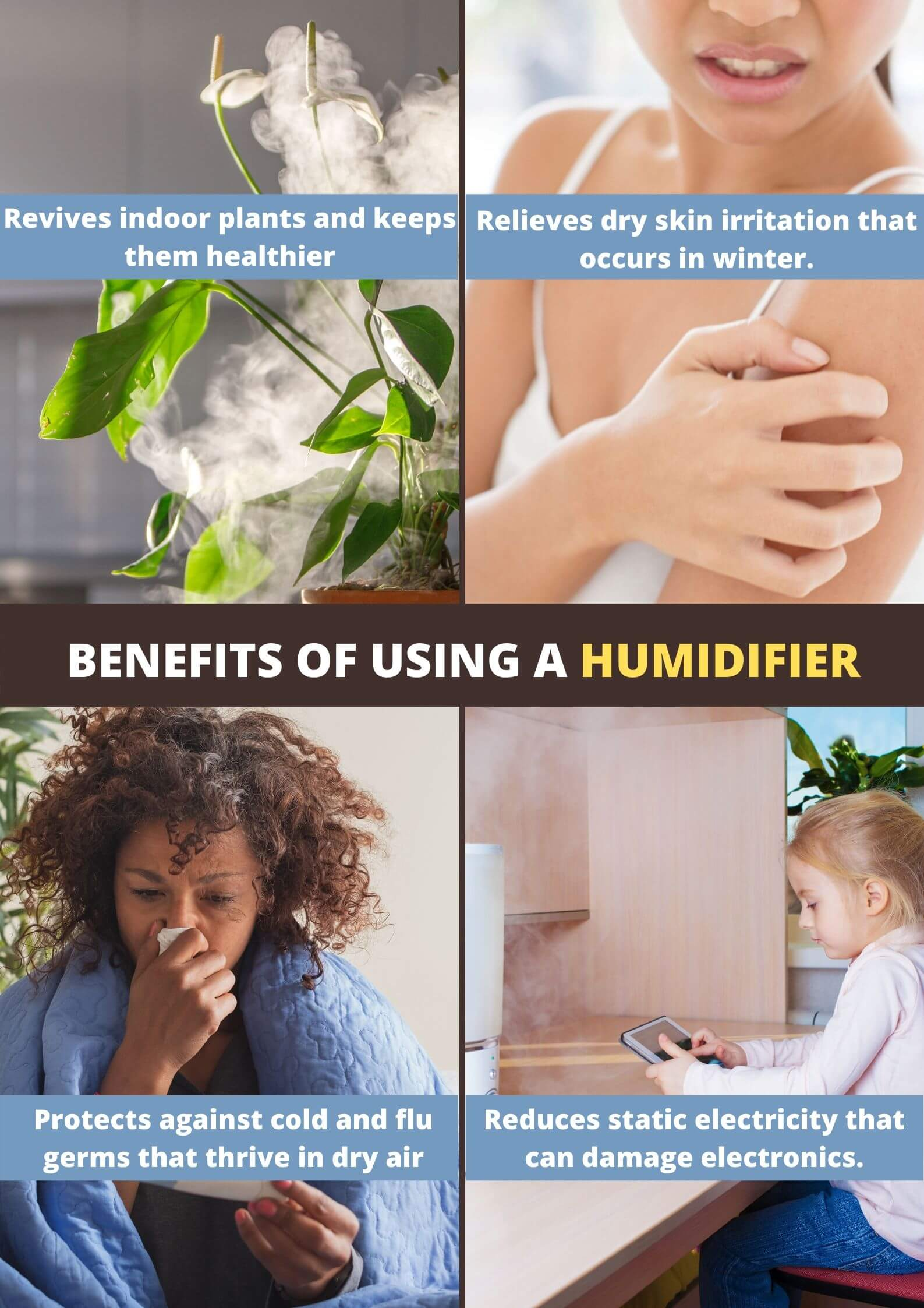 Advantages of a humidifier