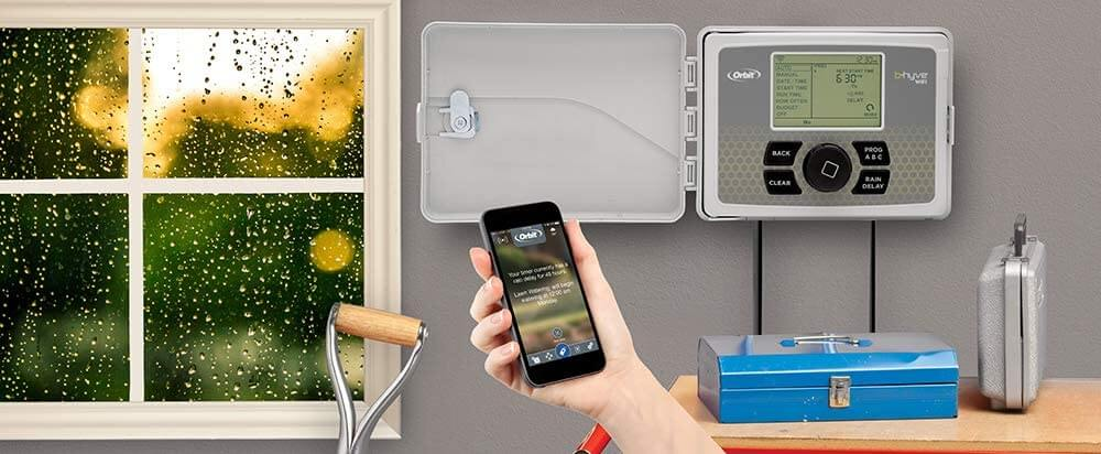 Smart water sprinkler controller